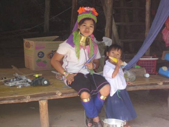 The Karen Tribe.  Thailand.