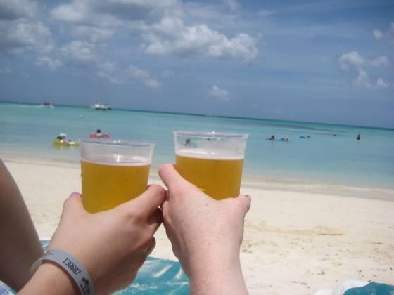 Balashi Beer.