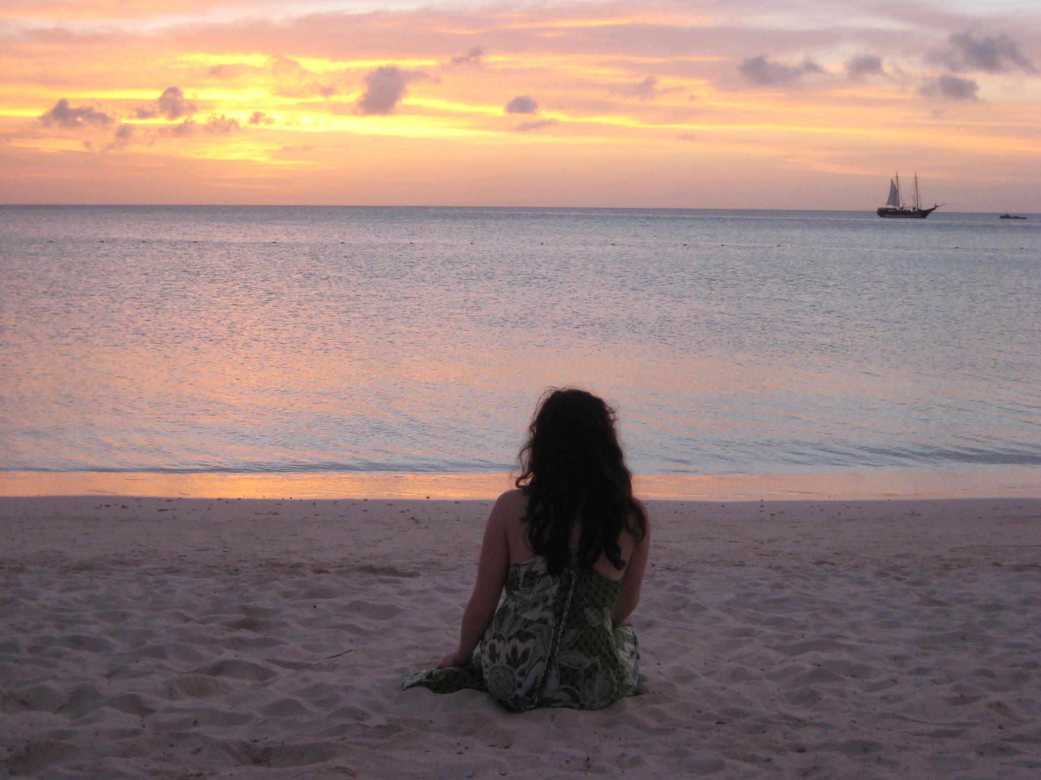 Pondering life in Aruba.