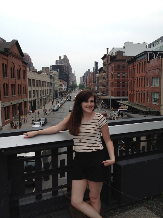 Me on the High Line.