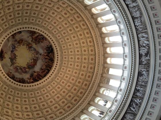Rotunda Ceiling.