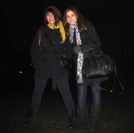 Lara and I at Trinity College.